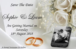 Save the Date or Save the Evening Ref SDWR PHOTO