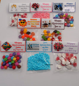 Personalised Sweet Wrappers