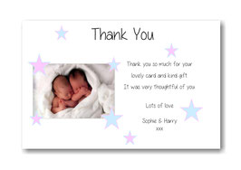 Baby Announcement cards TY7
