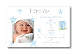 Baby Announcement cards TY9