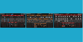 Roland Boutique Editor SET: JU-06 + JP-08 + JX-03  (Vst, AU  and Standalone)