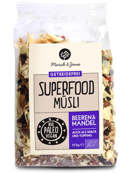 Beeren & Mandel Superfood Müsli 375 g