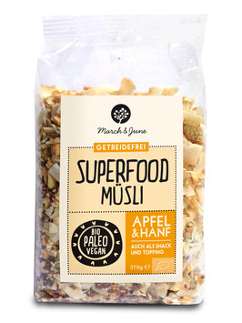 Apfel & Hanf Superfood Müsli 375 g