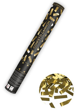 Konfetti-Shooter STREIFEN GOLD