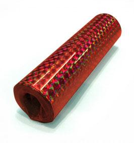 Luftschlangen, rot holografisch
