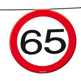 "Wimpelkette ""65"""