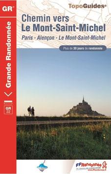 Chemin vers le Mont-Saint-Michel  GR®22