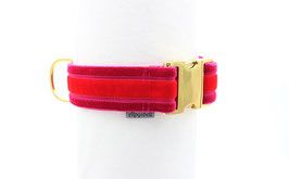 Halsband EDEL Pink Rot 40