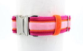 Halsband EDEL Pink Orange Rosa 40
