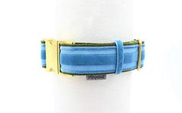 Halsband EDEL Grün Bleu 40