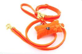 Stadtleine EDEL Orange Rot