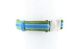 Halsband EDEL Grün Bleu Grün 25