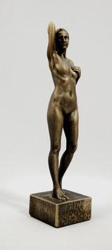 Stehender Akt - Bronze