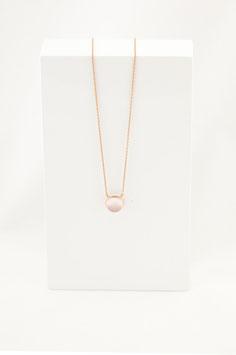 Halskette MIA - Rosenquarz