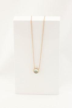 Halskette MIA - Grüner Amethyst