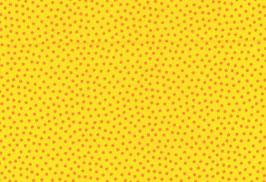Baumwolle kbA Punkte gelb-orange