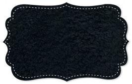 Plüsch uni navy blazer