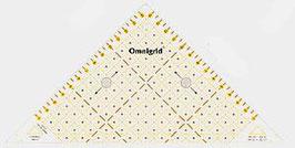 Prim Rollschneider Lineal  Flottes Dreieck 1/2 Quadrat