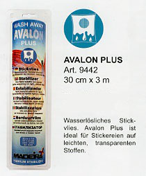 Madeira Avalon Stickvlies plus