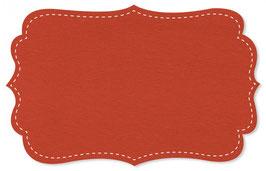 Bündchen madarin red