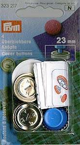 Überziehbare Knöpf 23mm