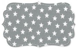 Interlock Sterne alloy grey /weiss