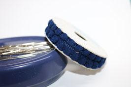 Pompon band mini dunkelblau