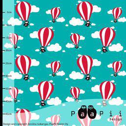 Hotair Balloons türkis