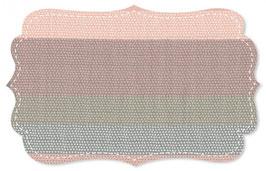 Popline fein Punkte Ringelreihe rosa/grau