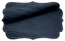 Doppel-Musseline navy blazer