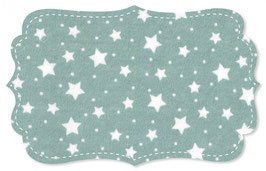 Interlock starry sky coude blue