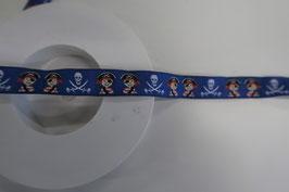 Pirat band blau