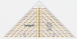 Prym Rollschneider Lineal  Flottes Dreieck 1/4 Quadrat