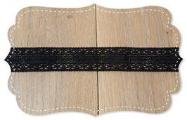 Bio Spitzenband Zamora black