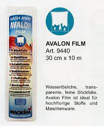 Madeira Avalon Stickvlies Film