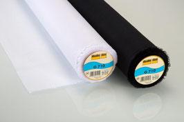 Vliesline G710 Gewebeeinlage schwarz/ weiss