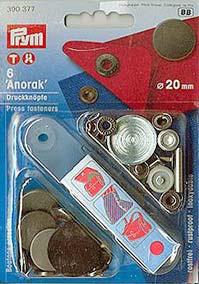Druckknopf Anorak