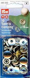 Druckknopf Sport & Camping Nachfüllpackung