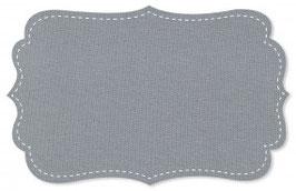 Bündchen alloy grey