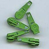 Spiral Reissverschluss Schieber grasgrün