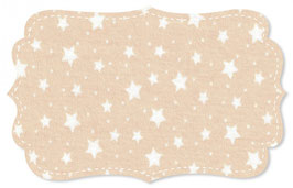 Interlock starry sky ivory cream