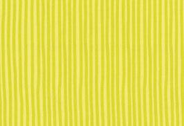 Baumwolle kbA Streifen lemon-grün