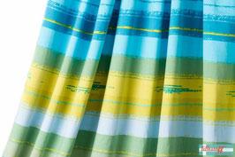 Jersey Dschungel Blockstreifen blau