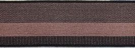 Elastisches Gurtband Altrosa/schwarz