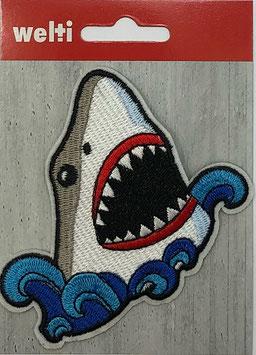 Flick aufnäher Haifisch