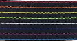 Elastikband Rainbow schwarz