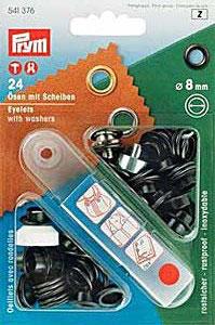 Ösen und scheiben Messing 8mm
