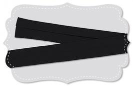 Schregband jet black