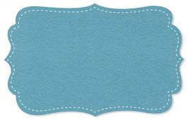 Bündchen adriatic blue