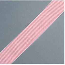 Elastik band rosa weiss